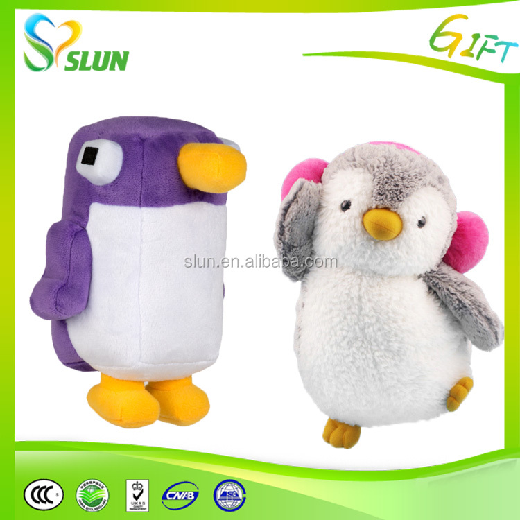 sales plush bow tie penguin toy for baby factory customed OEM