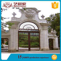 YISHUJIA Iron and aluminum Gate Home Decor Accents Room Dividers/Consolidated Hot Galvanizing Wrought Iron Gate/low - price