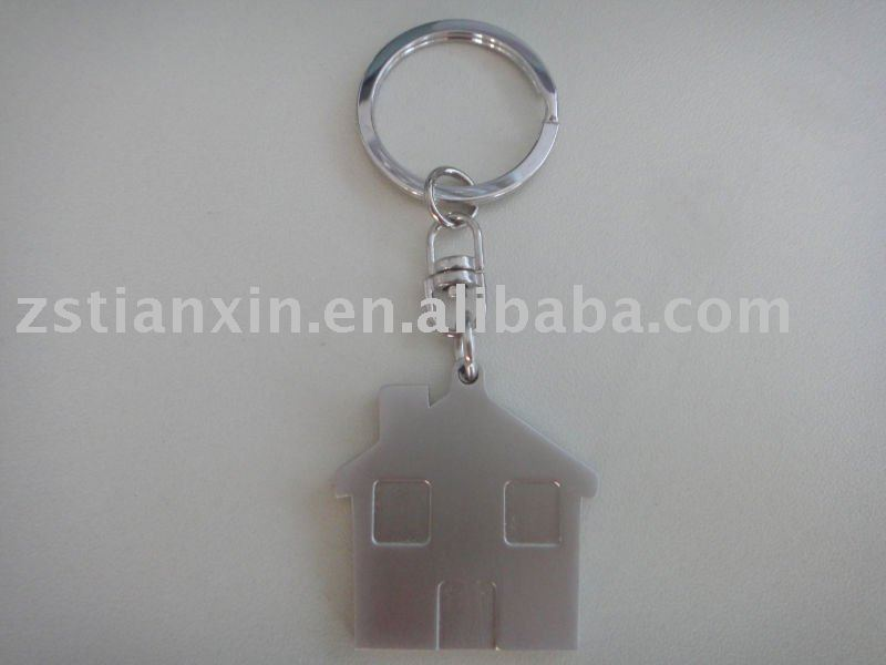 house shape key chain/house key holder/house key ring