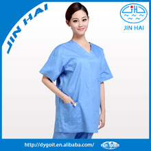 2015 New style nursing weare tunic medical scrub set