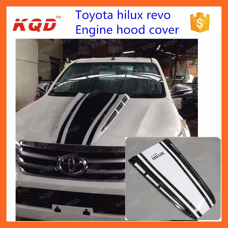 Bonnet guard protector for toyota hilux body parts bonnet guard toyota hilux body kit 2016