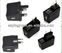 5v1a usb wall charger/travel charger/mobile charger
