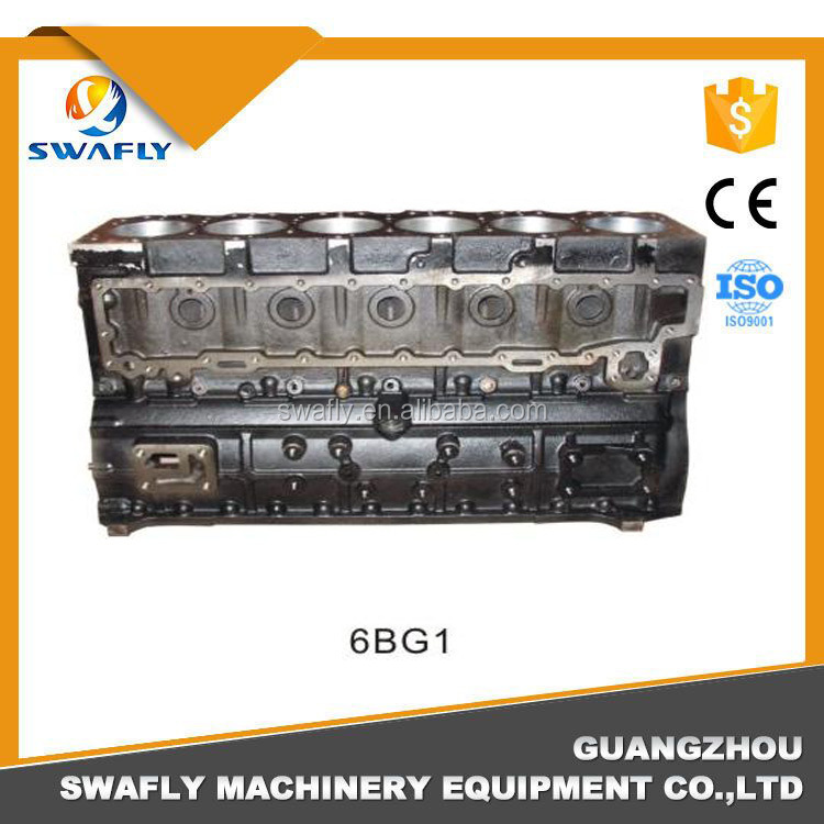 ISUZU used engine block 4JB1 4HK1 6HK1 6RB1 cylinder block sales