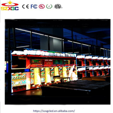 Alibaba express ru low power 3535smd rgb 32X32 p6 led billboard outdoor led screen car advertising