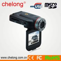 2.0 Inch High Definition TFT Screen Support 32GB SDHC Card 1080p spy-camera