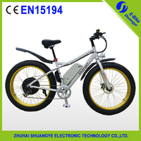 Big power new model fat electric bicycle 48v