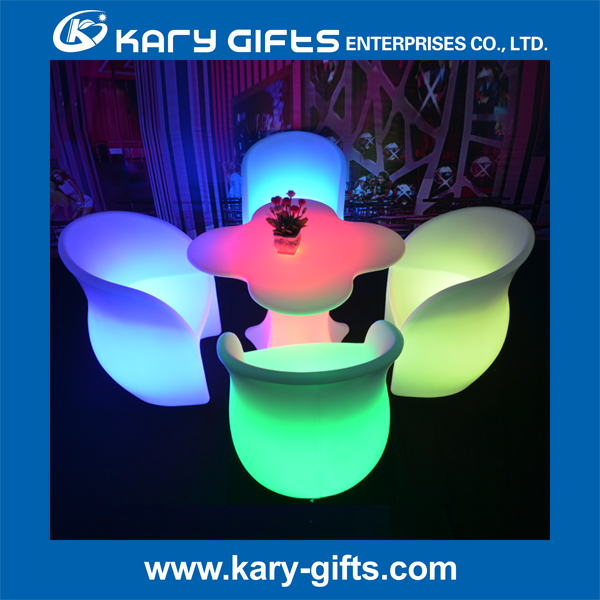 led table and chair RESTAURANT FURNITURE RENTAL