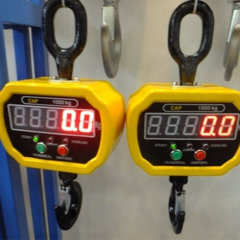 Good quality overhead crane using 10 ton electronic wireless led digital weighing scale
