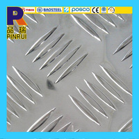 3003 3005 3105 aluminum checkered plate and sheet weight with factory price
