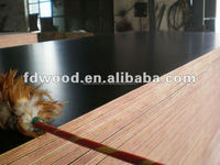12mm Brown Dynea High Quality Eucalyptus Core Tego Film Faced Plywood