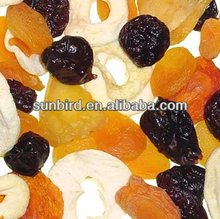 mixed dried fruit/fruit/goji cherry/dates/raisin/mango with low price