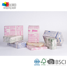 Colored English News Paper Design Printed Gift Wrapping Paper Wholesale Packaging Paper
