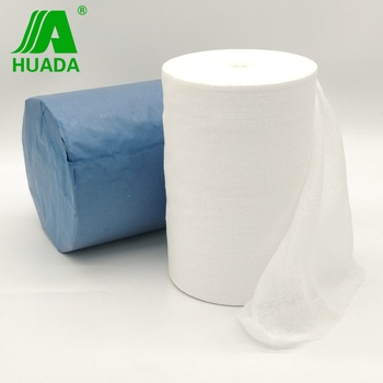 17 threads surgical cotton jumbo gauze roll