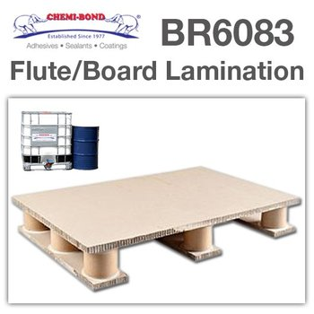 Paper board or flute lamination glue
