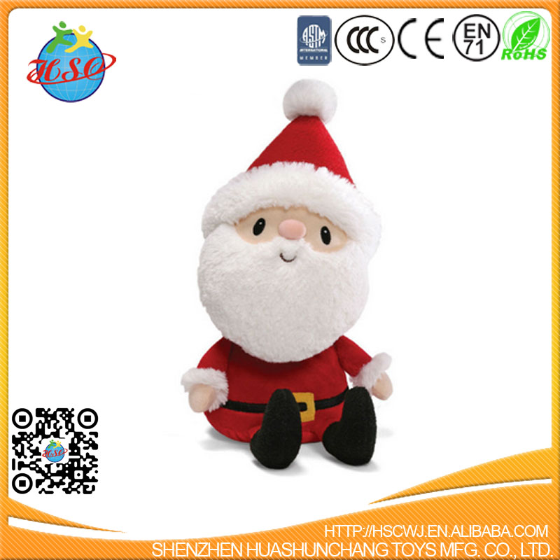 Christmas Toys Product : Festival promotional stuffed santa christmas plush toy