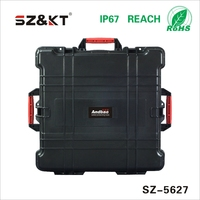 Factory plastic waterproof tool box carrying hard handheld case