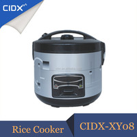 Round Shape Stainless Steel Electric Rice Cooker with Cooking and Keep Warm Function
