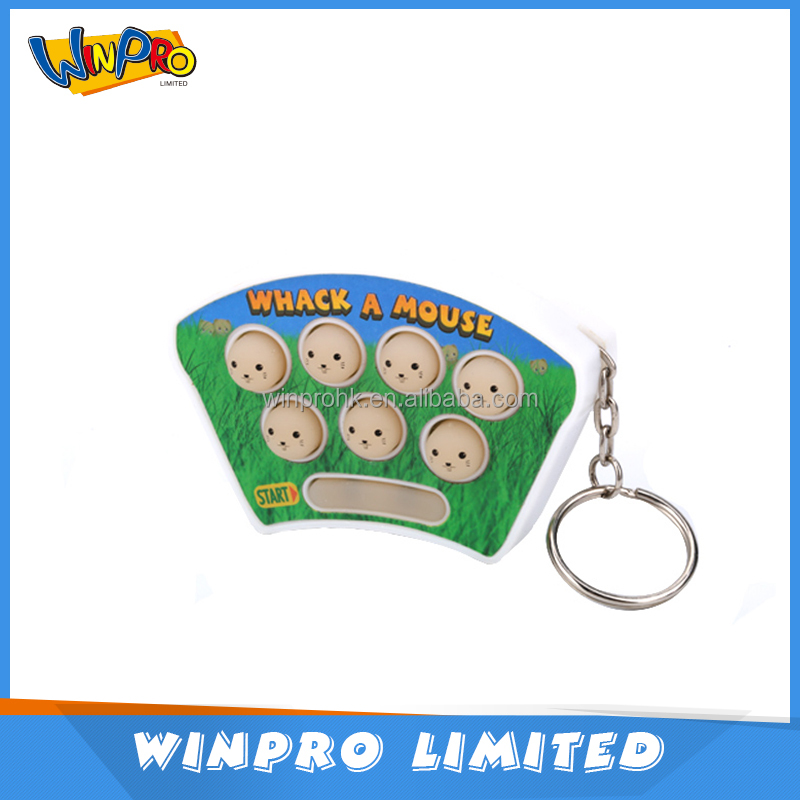 Plastic material electronic game whack a mole kid education toy