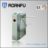 Automatic turnstile building access for access control