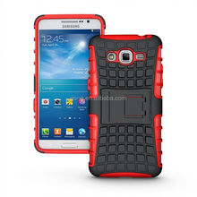pc+tpu case Mobile Phone Cover PC TPU Combo Kickstand Case For Samsung Grand Prime G5308W Holster Combo Case