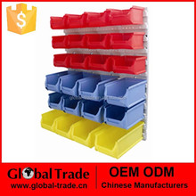 Multi Functional Organiser System.Plastic Wall Mounted Storage Bins Rack Board Bin .T0015