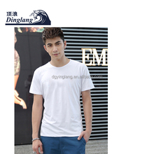 2014 cheap high quality t-shirts small quantity blank t-shirts made in china modal and cotton blank t-shirts