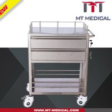 Stainless Steel Medicine Trolley/Cart
