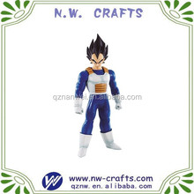Custom dragon ball z resin figurine decor home
