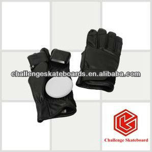 Synthetic leather skateboard glove