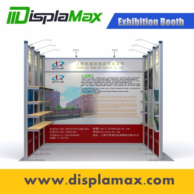 New Portable trade show exhibition Booth design, exhibition DIY design Customizable Exhibition Booth Display , 10x10 Booth