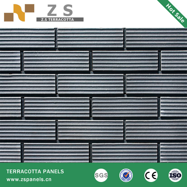 fire prevention High Quality Grey Tumbled Calibrated Bricks