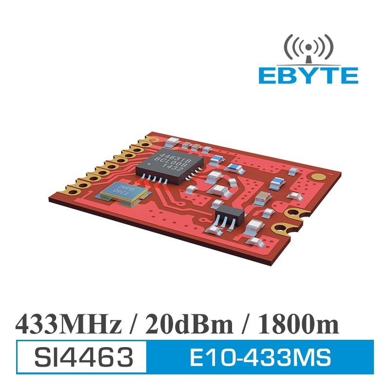 Factory price E10-433MS SI4463 433MHz RF Wireless Transmitter Module