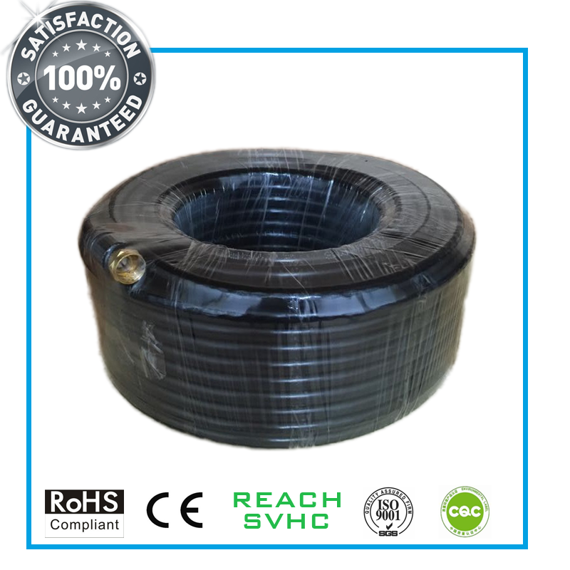 Quad Shield RG6 Coaxial Cable for CATV/MATV/CCTV Equipments