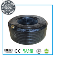 Quad Shield RG6 Coaxial Cable for CATV/MATV/CCTV Equipments
