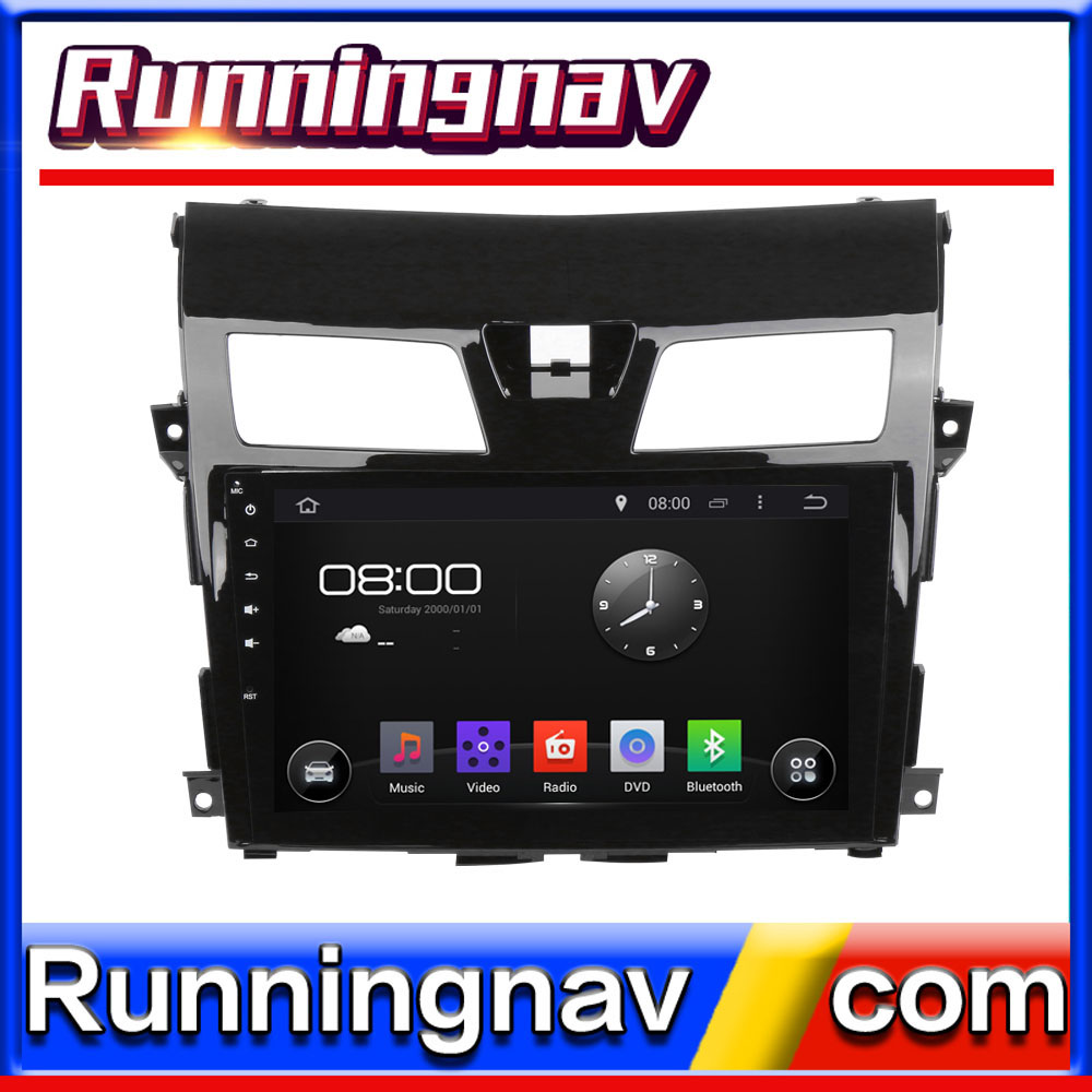 Dashboard placement car stereo for Nissan NEW TEANA with DVD/ Bluetooth/3G/WIFI