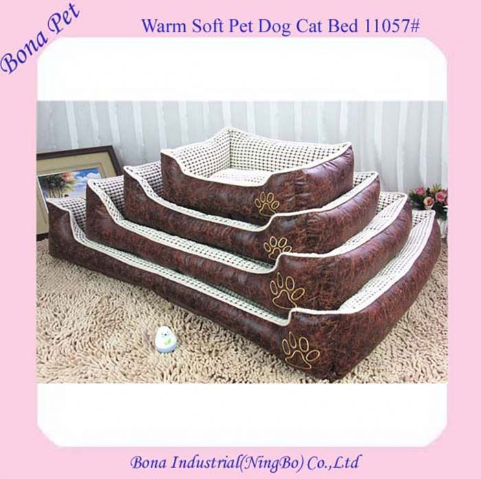 Luxury Leather Sofa Dog Beds For Extra Large Dogs