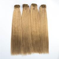 Clip in human hair extensions cheap 100% human hair clip in hair extensions for african american
