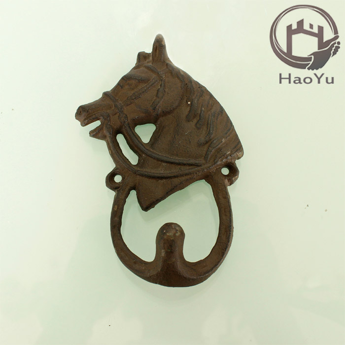 arts and crafts the cast iron horse head hook for home decor