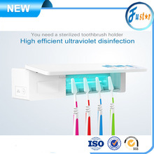 High Efficient Ultraviolet Disinfection Home Toothbrush Sterilizer with UV C light Radiation