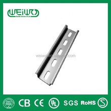 Made in china Cold rolled Steel Din rail best prices