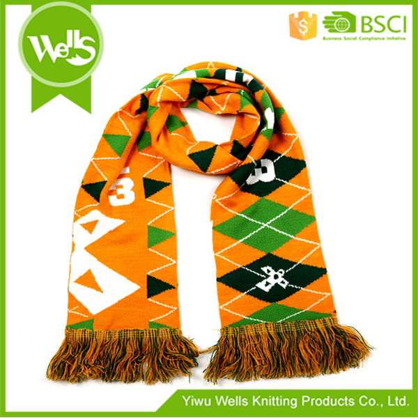 Best selling excellent quality china manufacturer fans scarf from China