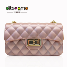Hot alibaba China luxury set fashion 2017 women bag pvc jelly handbag for wholesale