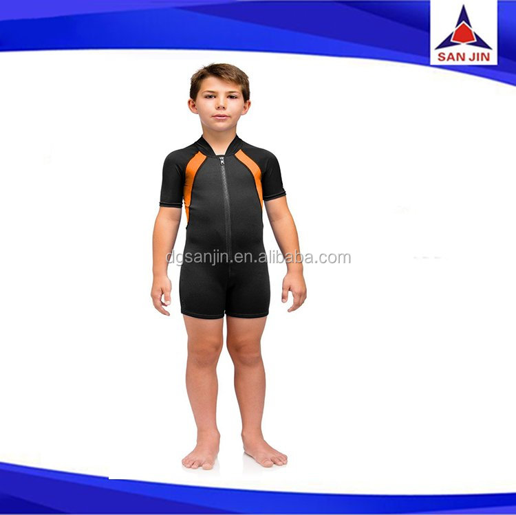 cute stylish neoprene children's wetsuits surfing wetsuits for kids