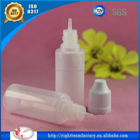 15ml plastic clear PET pill/medicine/pharceutical/oil bottle, 30ml HDPE medicine pe plastic bottle