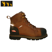 anti-static action leather work safety shoes price