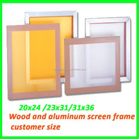 make screen printing aluminum structural frame for nameplate print