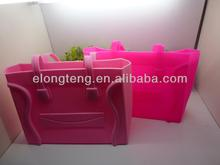 WHOLESALE 2013 Hot Sale Ladies Tote Bag Jelly Candy Women Handbag New Design Fashion Rubber Silicone Handbag