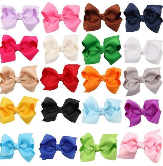 8cm Design Fashion Bow Hairpins Hair Clips For Children Kids Girls Hair Accessories