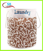 Large Portable Folded laundry Basket Dirty Clothes Organizer Hamper With Two Handles Wholesale