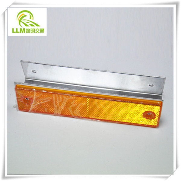 highway double sides rectangle guardrail delineator